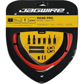 Jagwire Road Pro Brake Cable Kit red